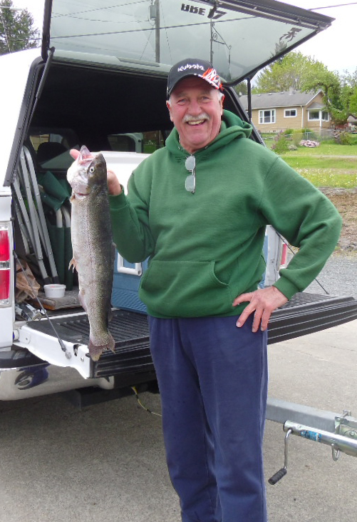 Larry Chapman, Packwood.  5 lb, 11 oz.